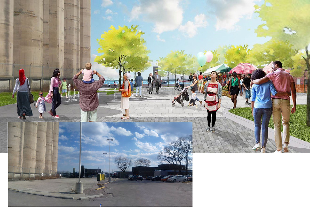 4: New waterfront plaza & event space
