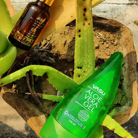 Vasu Healthcare Aloe Gel and Beauty Oil