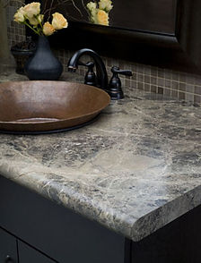Laminate edge option Nova for kitchen and bathroom countertops