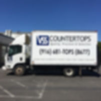 Vss delivery truck will deliver all over Northern California