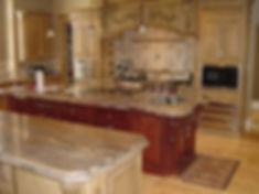 Granite kitchen and bathroom countertops