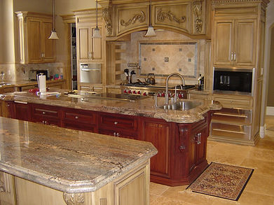 Granite kitchen and bathroom countertops