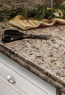Laminate edge option geneva for kitchen and bathroom countertops