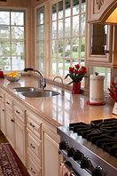 Quartz kitchen and bathroom countertop