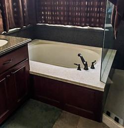 Corian Bathtub Deck
