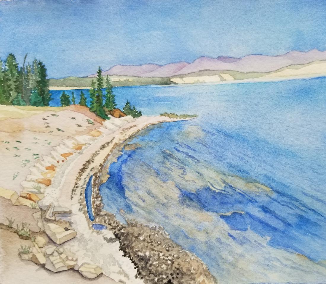Yellowstone Lake (Yellowstone NP) wc