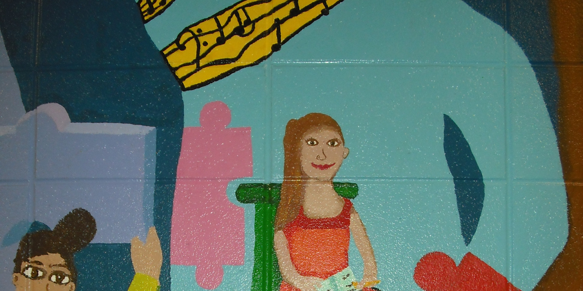 South school mural detail
