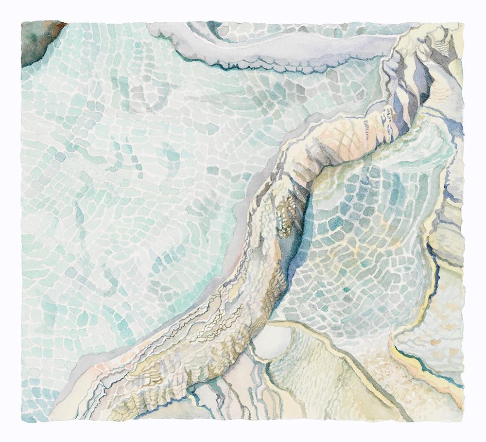 Water Mosaic (Yellowstone NP) wc