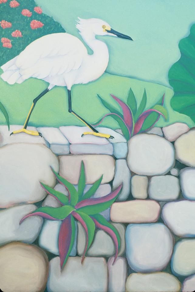 detail, St. John's Rehab mural