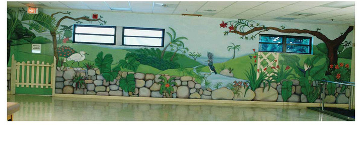 St. Johns Rehab Hospital, Lauderdale Lakes, FL, 8' x 60'