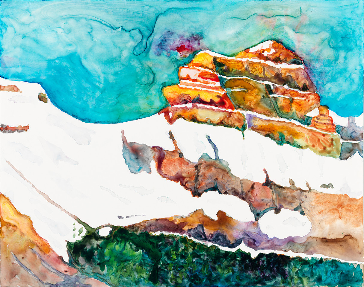 "Mt. Christine Energy 14""x19"""