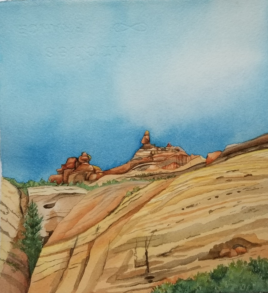 Distant Tor (Arches NP) 2020