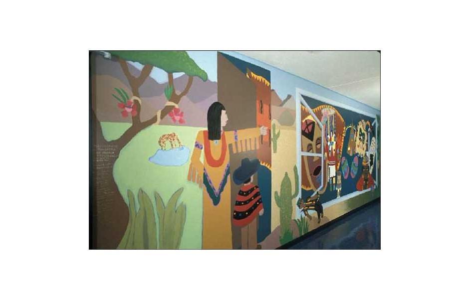 detail, Hollywood Park Elementary School