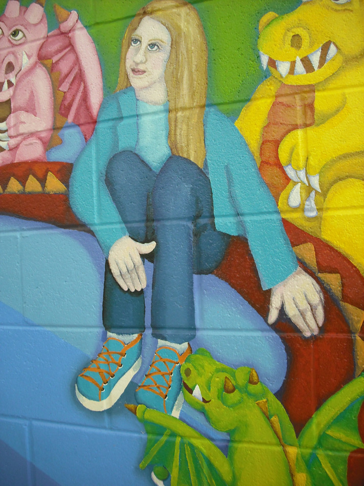 detail, South School Mural, North Chicago IL