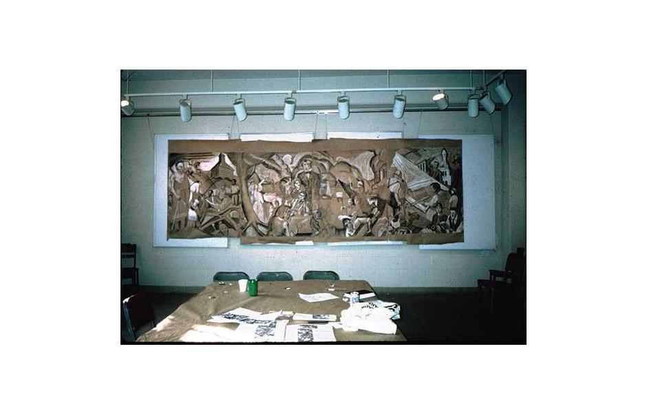 Mural Workshop, Northwestern University, Evanston IL