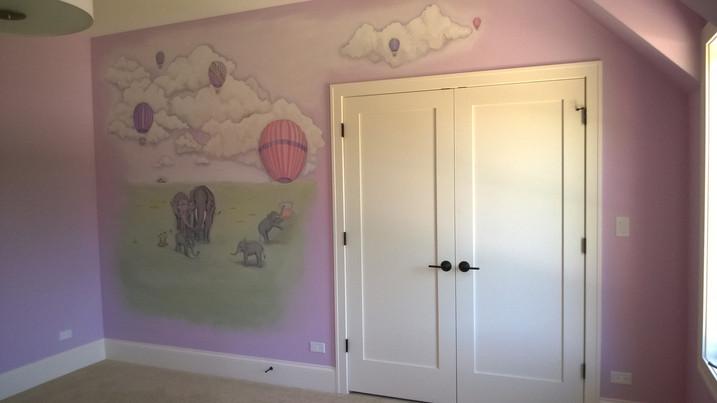 Private home, children's room, Oak Park, IL