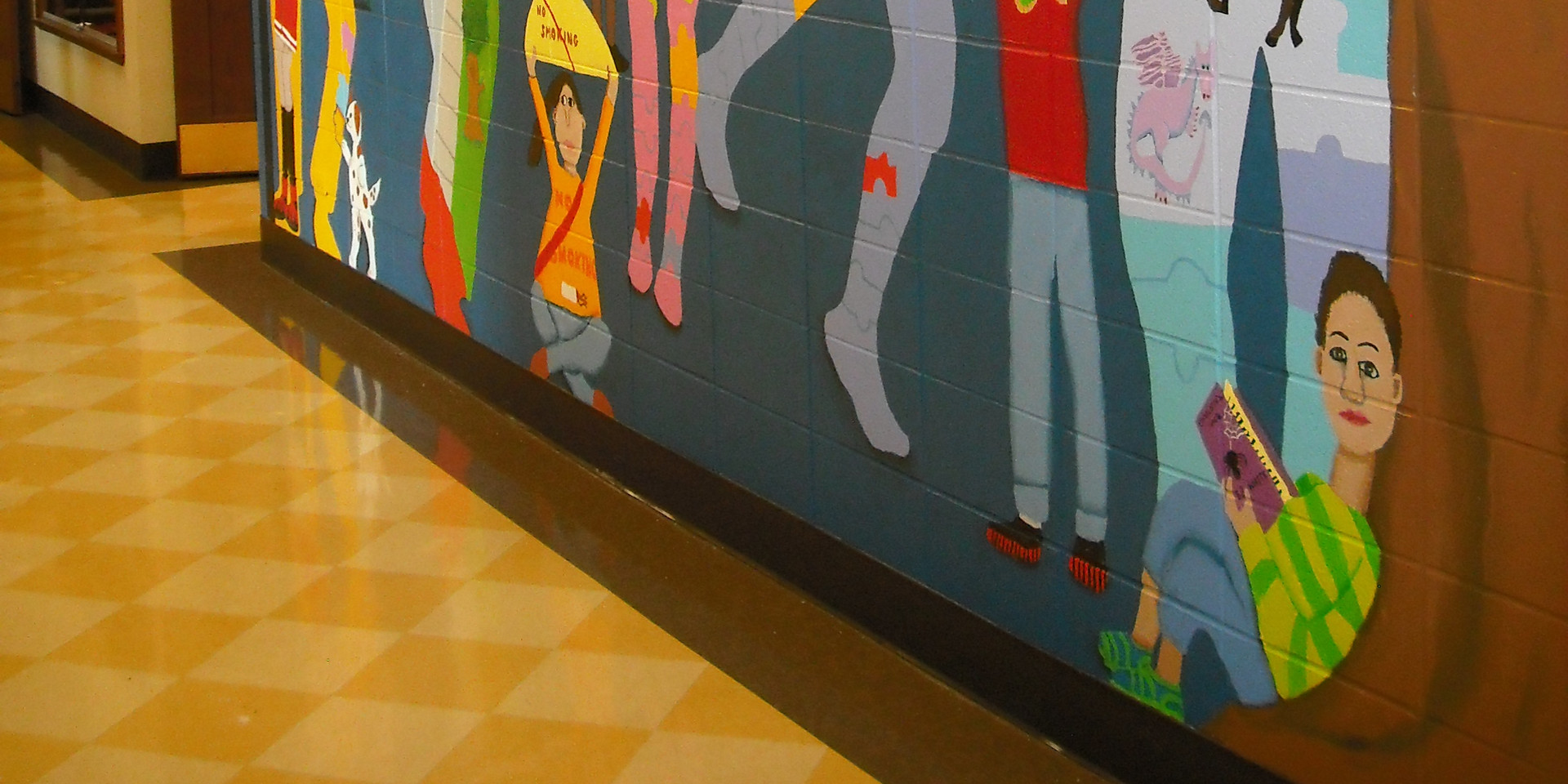 South school mural, Des Plaines