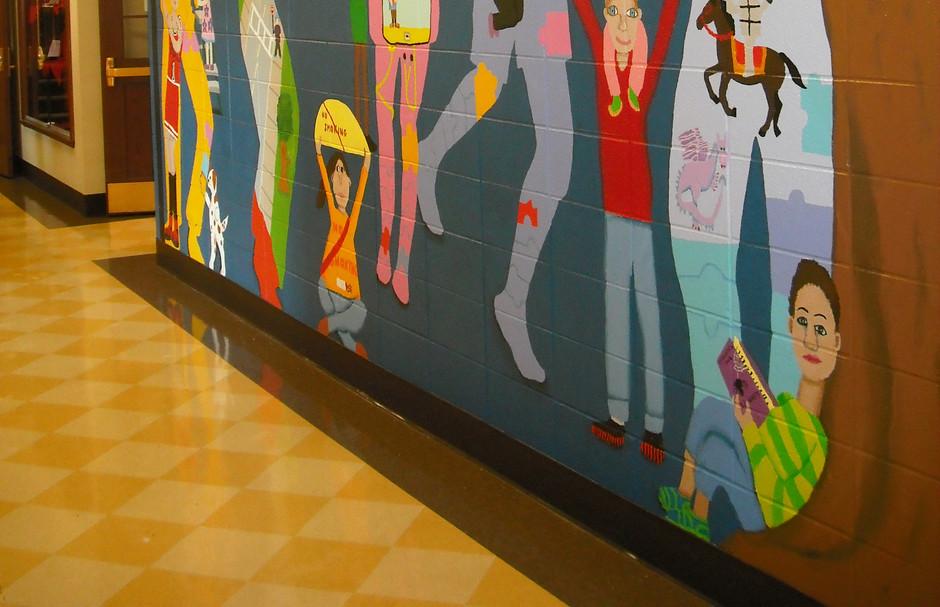 South school mural, Des Plaines