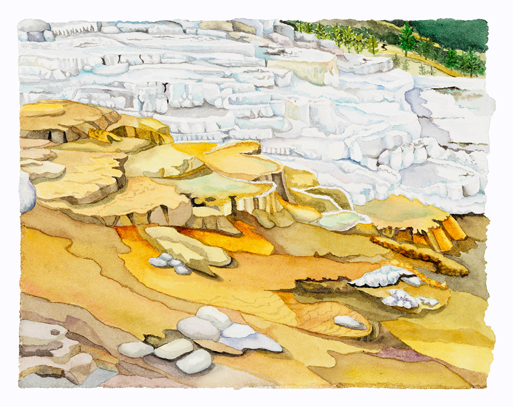 Travertine (Yellowstone NP) wc