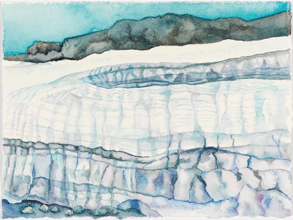 """Ishus, watercolor, 5"""" x 7"""""""