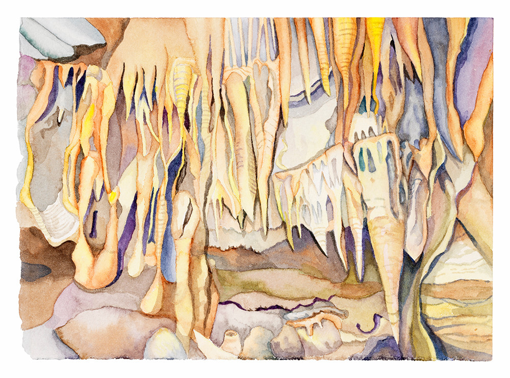 Drapery Room (Mammoth Cave NP) 2020