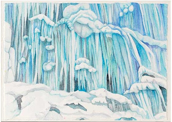 """From Fire and Ice 3""""x72"""""""