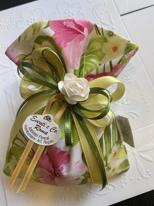 Sacchetto floreale