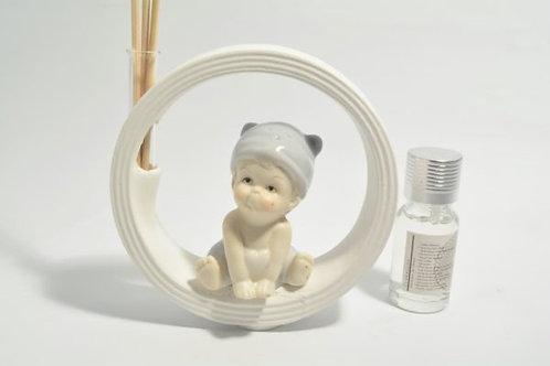 Profumatore bebè con Kit essenza (celeste/rosa)