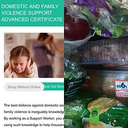 I've started my online course in Domestic Violence Support, a subject close to my heart, and my grocery shop is a joy compared to the stressful never enough cheap packaged 'pov pastas' jar sauces and 2 minute noodles. The best feeling was my daughter able to attend a friends movie party and not be too embarrassed to say we can't come due to lack of funds. Her face 🥰.