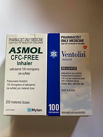 My twin boys have asthma, triggered by the cold. We are heading into our scary time.  I now have spare medication in the car.  I can go from terrified to be alert. Always worried about running out.