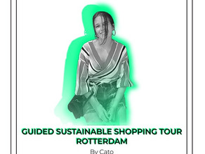 Guided sustainable shopping tour Rotterdam