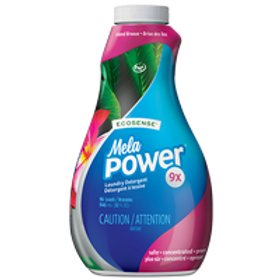 MelaPower - Laundry Detergent - Island Breeze 96 loads