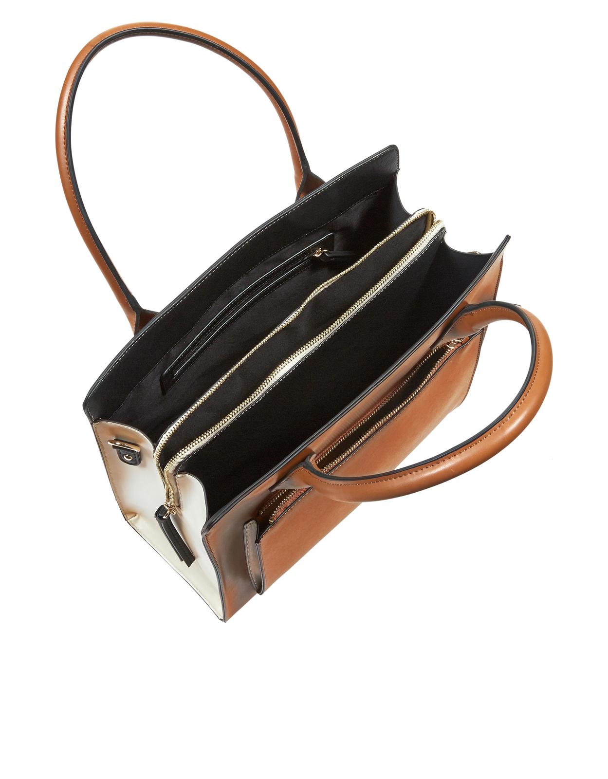 LEIGH BOXY TOTE BAG