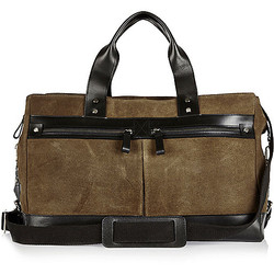 Double Pocket Holdall
