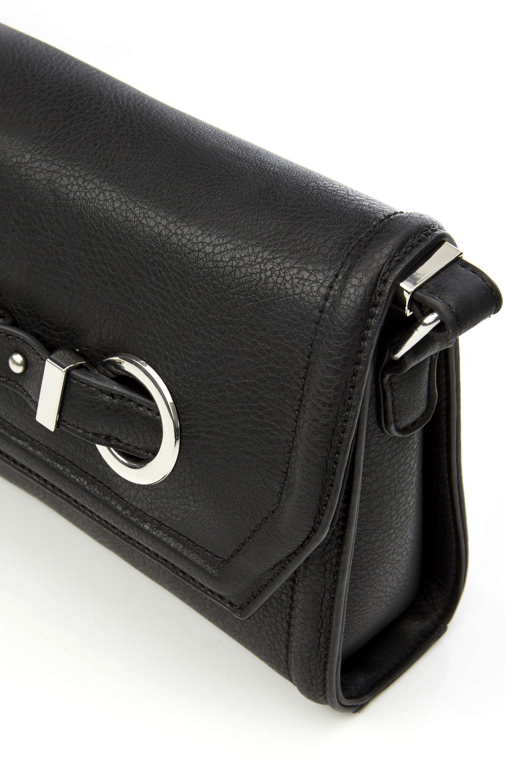 EYELET FLAP CROSS BODY