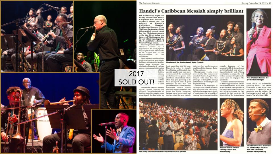Handel's Caribbean Messiah - EPK 2