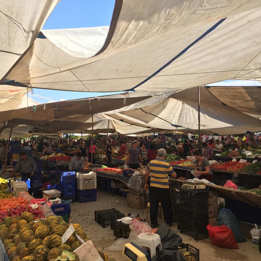 Markt in Günlükbasi