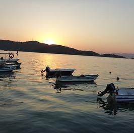 Sunset  am Kordon