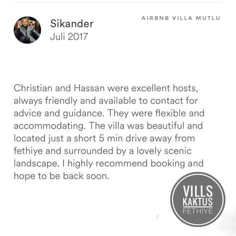 Sikander Villa Mutlu