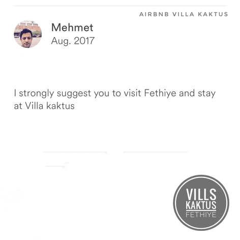 Mehmet Villa Kaktus