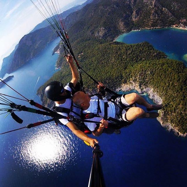 Paragliden ! was für ein Erlebnis! Tandemsprung von Babdağ! wahnsinn!#babadağ #paragliding #Türkiye #sommer2017#gravity #ölüdeniz #villamutl