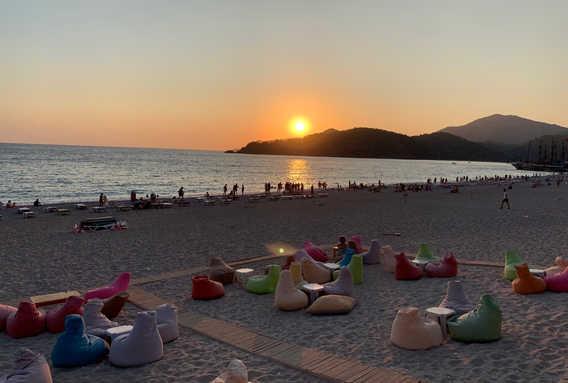 Sunset in Ölüdeniz
