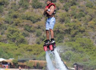 Spaß pur! Flyboard in Ölüdeniz