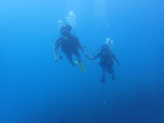 Deep blue Puerto Rico