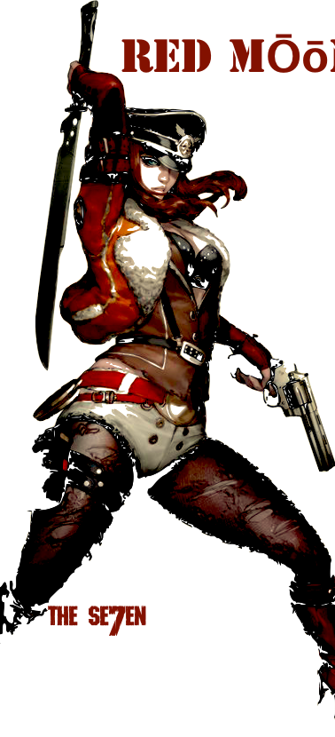 Red Moon of the infamous hit squad, The Seven.