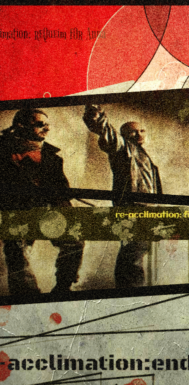 International bounty-hunters Darven Retchum and Broussard Tangle.
