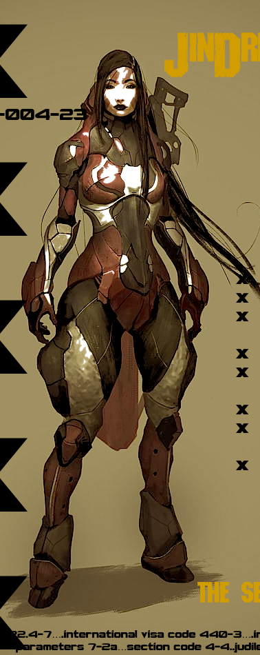 Jin Drias is one of the femme-fatals associated with the infamous assassin group, The Seven.