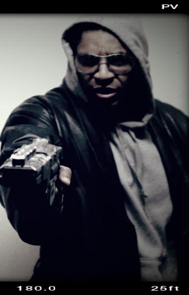 Calen Moore plays Coldjack Bramble, a corporate assassin-bounty hunter.