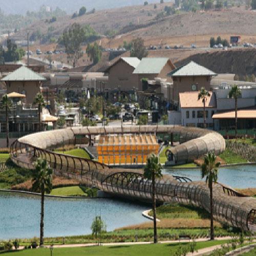 Dos Lagos Heart Bridge