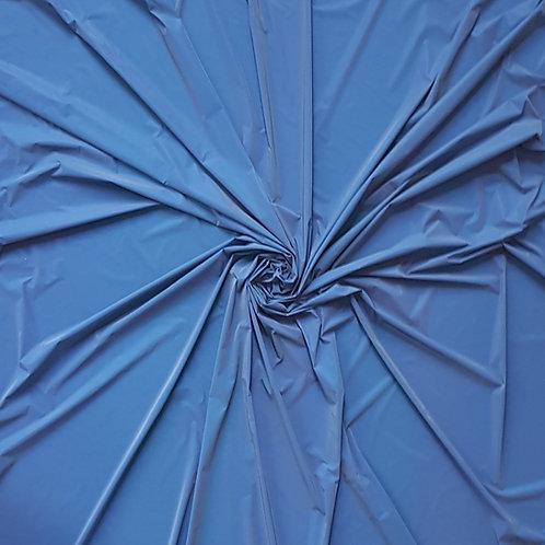 Deep Blue Iridescent Reflective WOVEN Fabric
